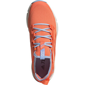 adidas TERREX Speed LD Shoes Women hi-res coral/hi-res coral/glossy blue